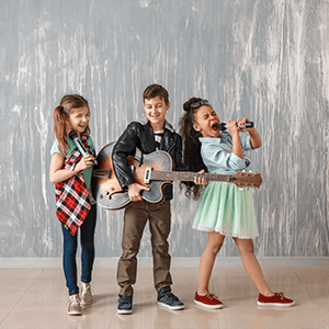 Kids Music Learning - Jays Octave School of Music